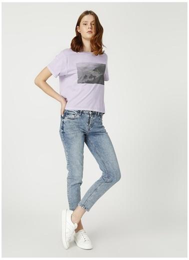 Levi's® Levis Mor Baskılı T-Shirt Mavi